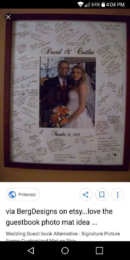 Wedding Guest Book - 1