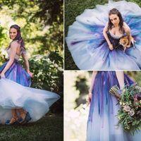 Wedding Dress - White or Colourful? - 1