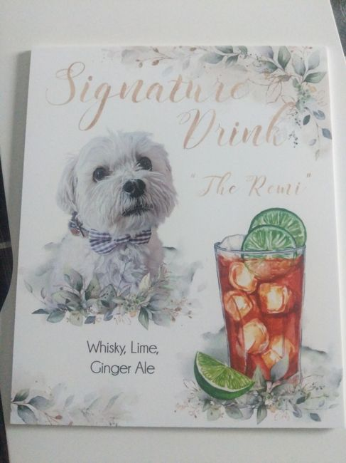 Signature Drink... Thoughts? 1