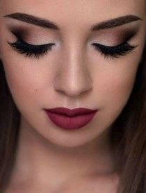 6a57a64c4e4 Dark Glam Bold or Subtle? What wedding make-up look are you going for? 2