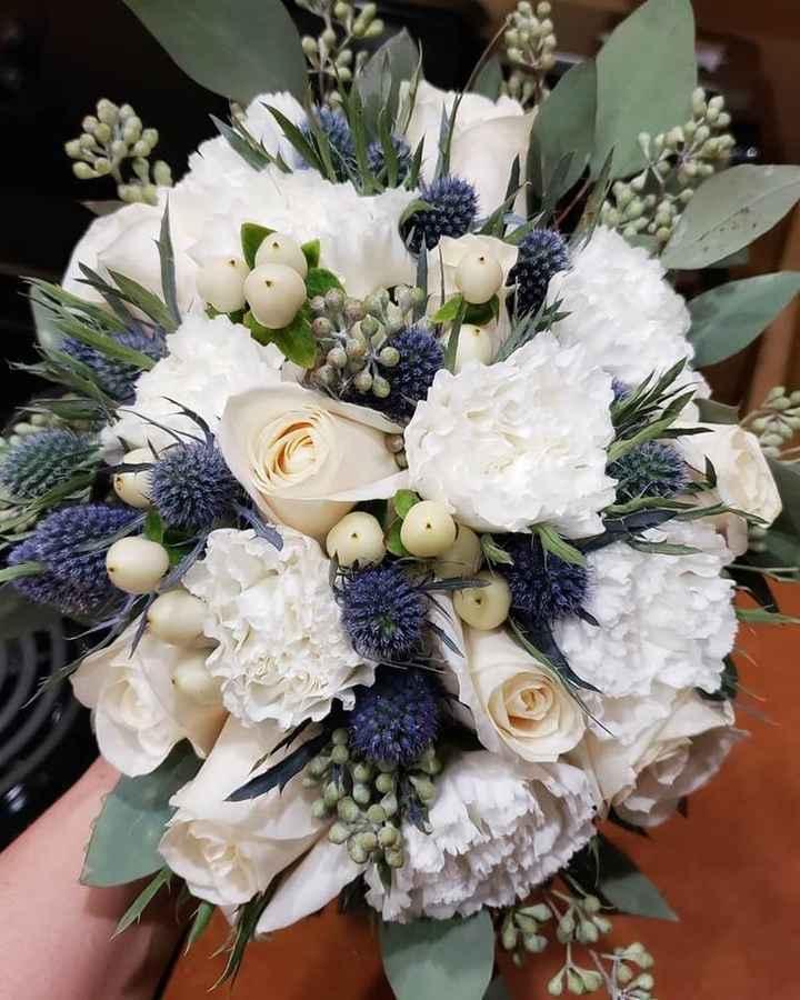 Garden Collection Bouquet in White