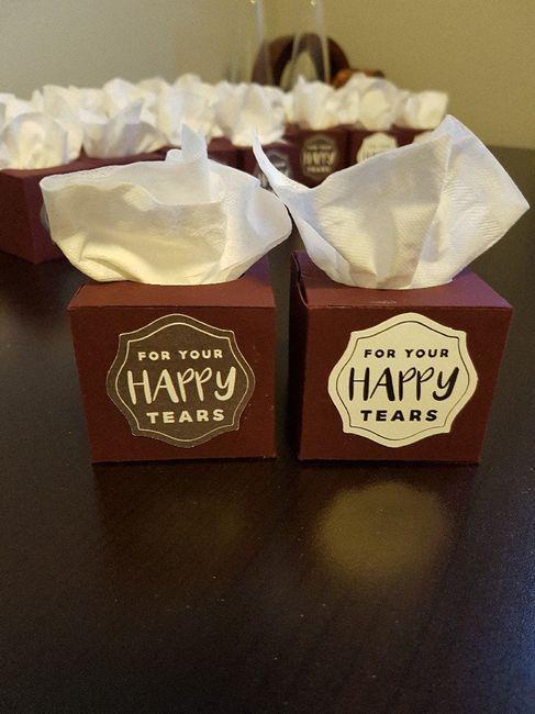 Mini tissue boxes - DIY - Forum Weddingwire ca