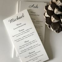 DIY or Buy? - Table Numbers, Seating Charts, & Escort Cards - 1