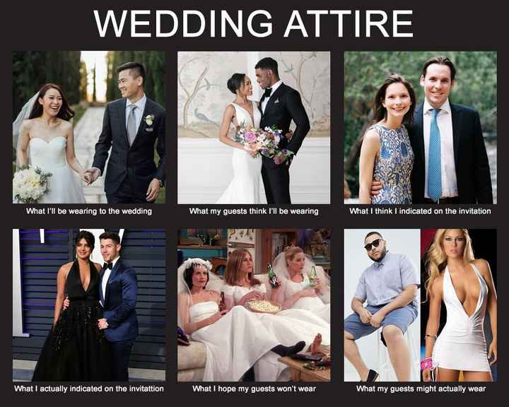 Wedding Guest Attire - 1