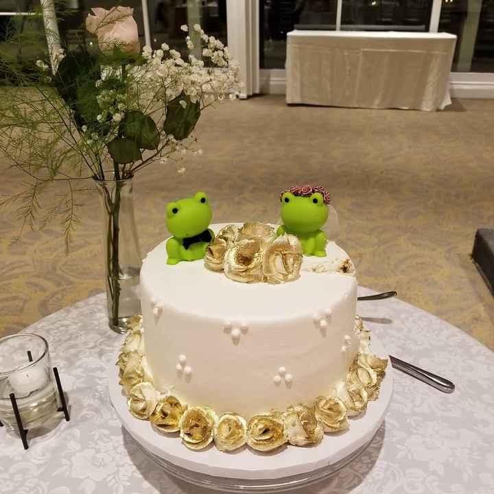 Cake Flavors, Tiers & Design - 1