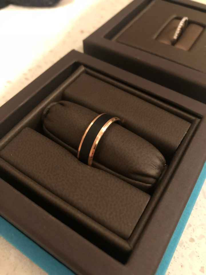 Show off your partner's wedding band! - 1