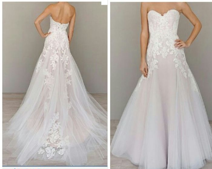 Found my dress on pinterest!! - Wedding fashion - Forum Weddingwire.ca