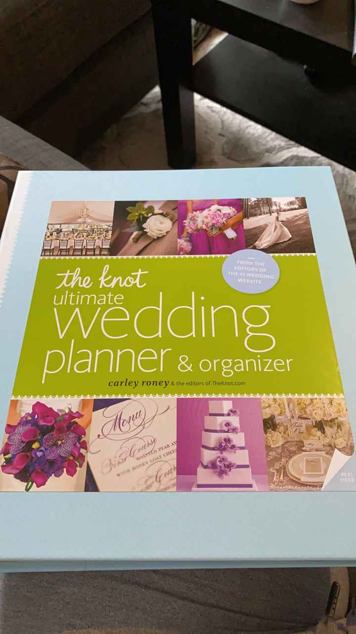 Looking at wedding stuff - 1