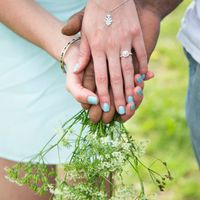 Do you wear your engagement ring 24/7? - 1
