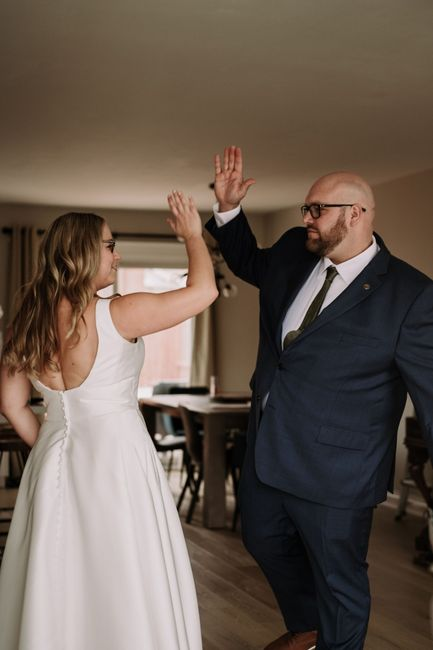 We got married despite the pandemic 2