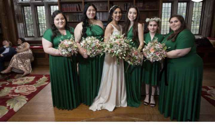 What are your Bridesmaid dresses like? - 1
