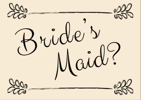 How to ask my bridal party? - 2