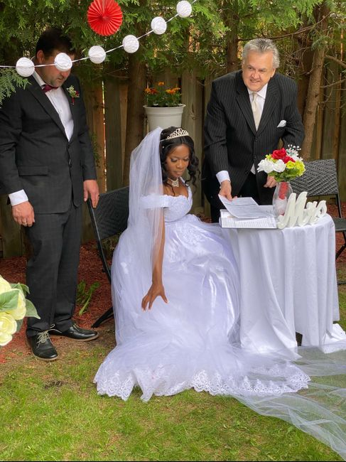 May 22 bride here, we did it 3
