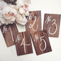 Table Number Ideas - 3