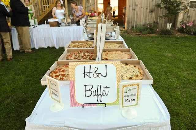 Wedding Pizza Buffet