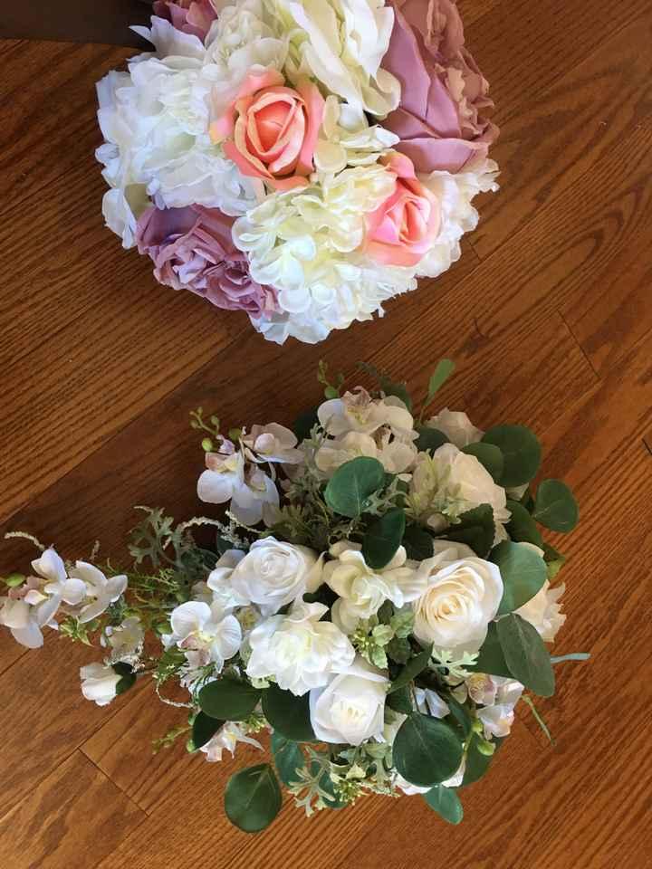 Matching Bridal & Bridesmaids bouquets - 1
