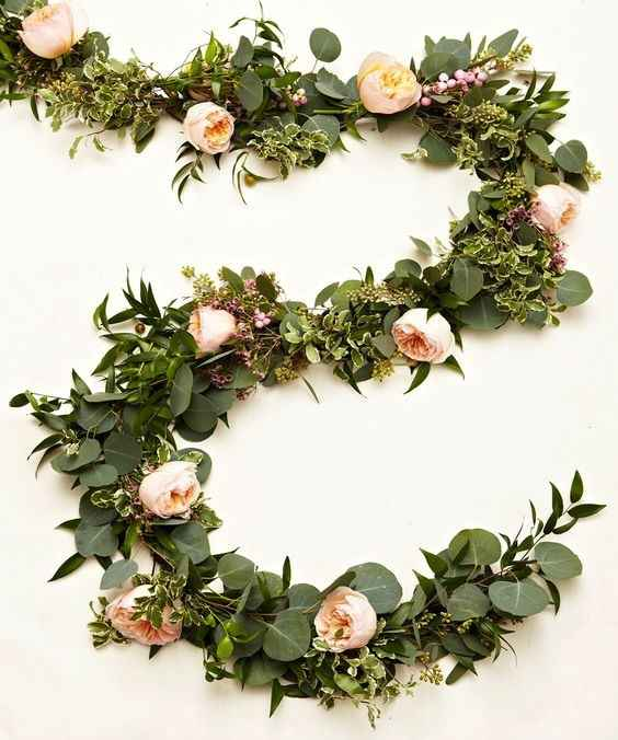 Garland for the head tables