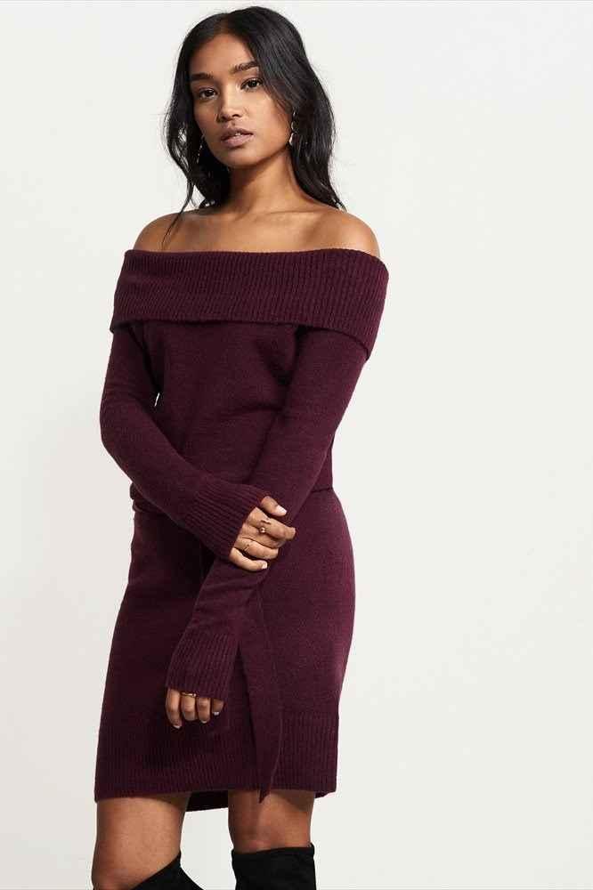 Sweater dress from Dynamite