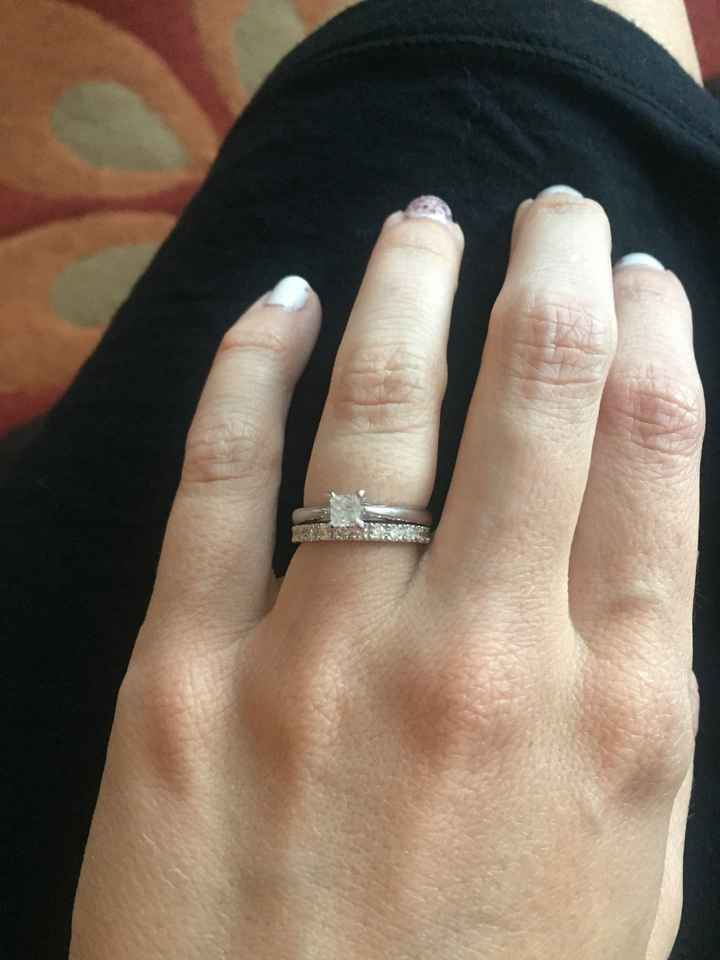 Can't decide on a wedding band.. - 1