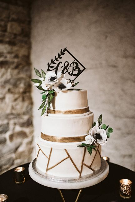How much did your wedding cake cost? 6