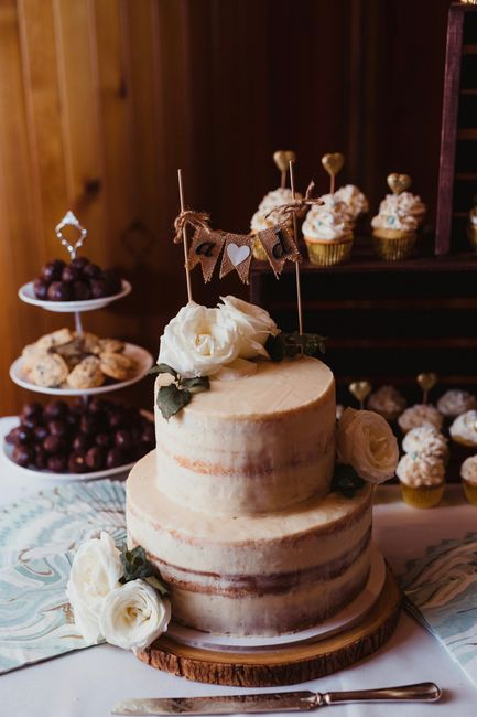 How much did your wedding cake cost? 7