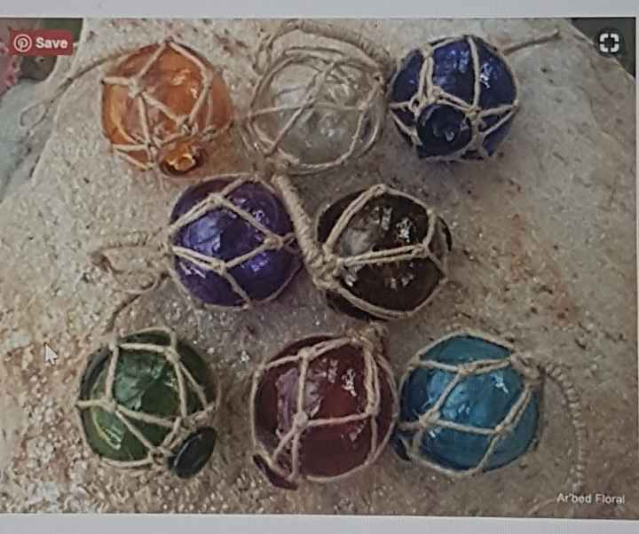 Japanese glass balls