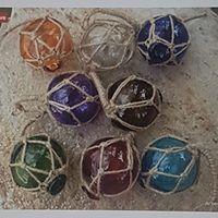Japanese glass balls