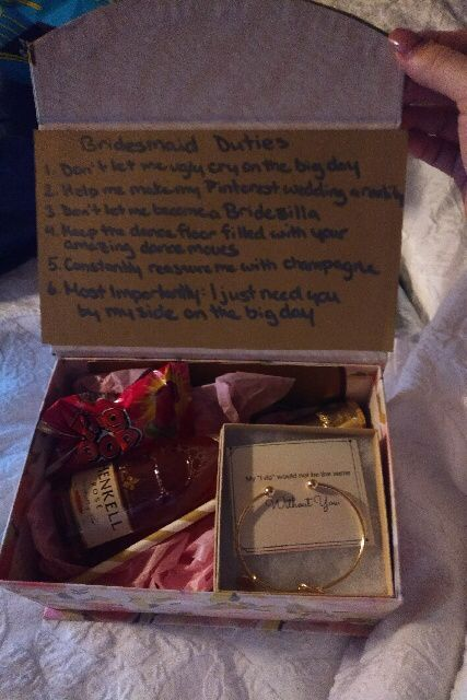 Alternative Bridesmaid proposal format - thoughts? - 1
