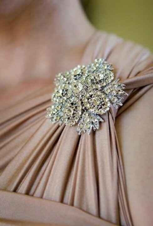 Corsage alternative for moms - 3