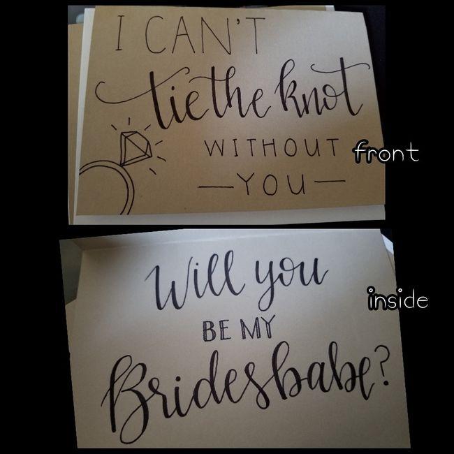 Bridesmaid proposal ideas wanted! 5
