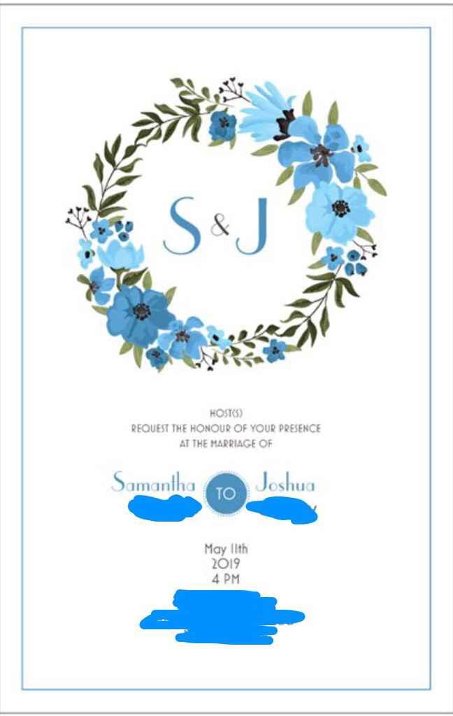 White or Colorful: Invitations? - 1