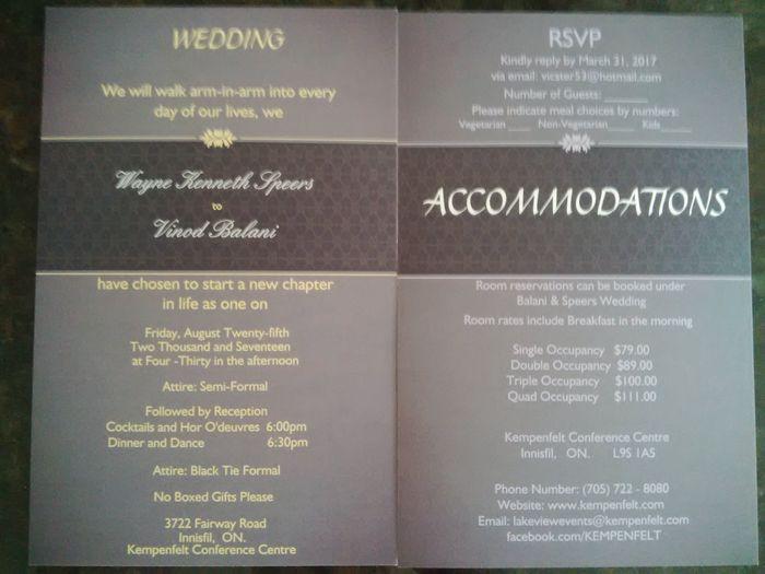 Invitation Style- Picture or no picture? 3