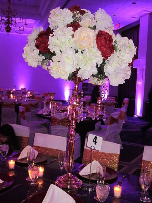 Candle centrepieces - 3