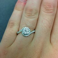 Show off your diamond ring! - 2