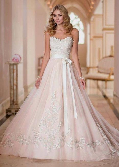 Colour Wedding Dress