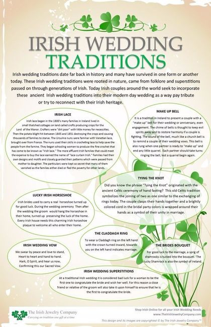 Will You Include Irish Traditions Into Your Wedding Wedding