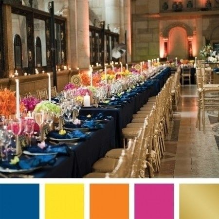 7 Colour Combinations Which One Do You Like Wedding Reception
