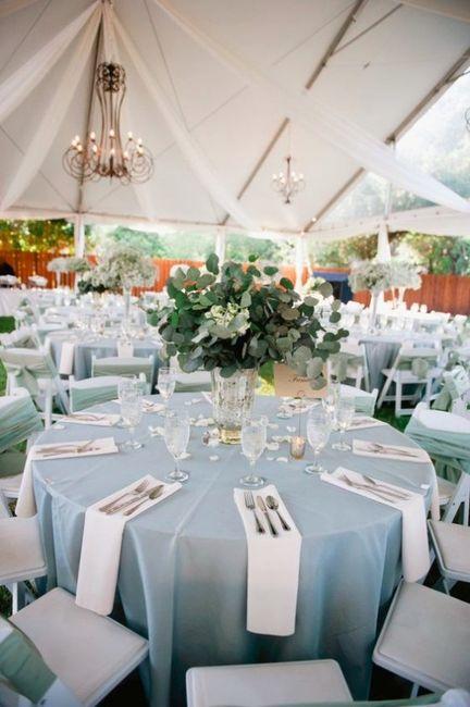 10 Elegant Dusty And Serenity Blue Ideas Wedding