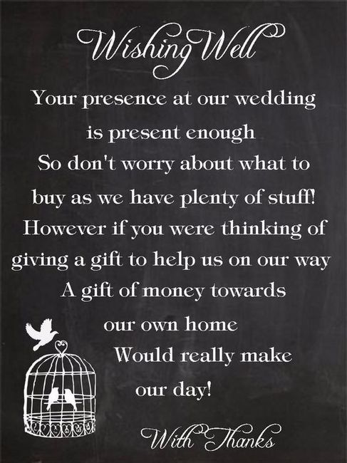 5 Ways To Ask For Money Instead Of A Gift Plan A Wedding Forum