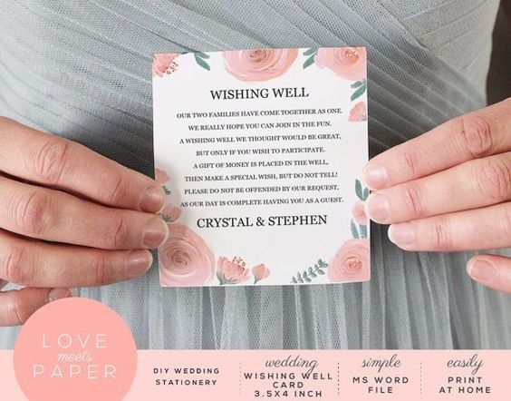 Wedding Invitation Wording Money Instead Of Gifts: 5 Ways To Ask For Money Instead Of A Gift