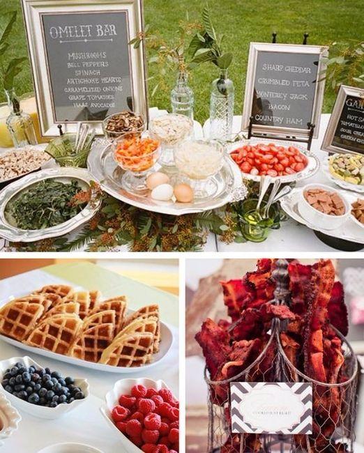 Brunch Lunch Or Dinner Reception Wedding Reception Forum