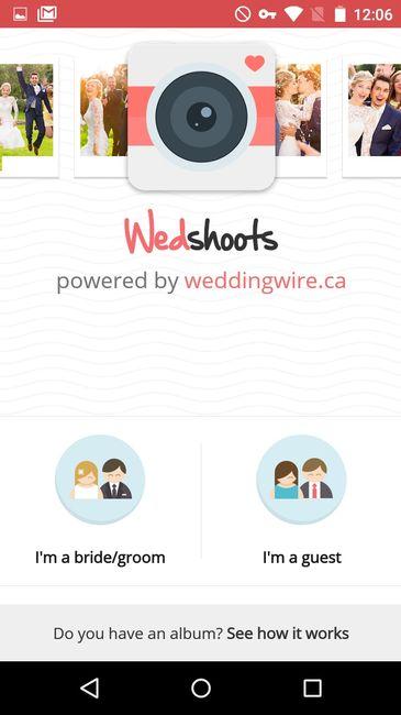 app wedshoots