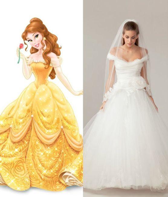 Which Disney princess wedding dress would you wear? - Wedding ...