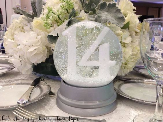 Prime Winter Wonderland Centerpieces Wedding Reception Forum Home Interior And Landscaping Mentranervesignezvosmurscom