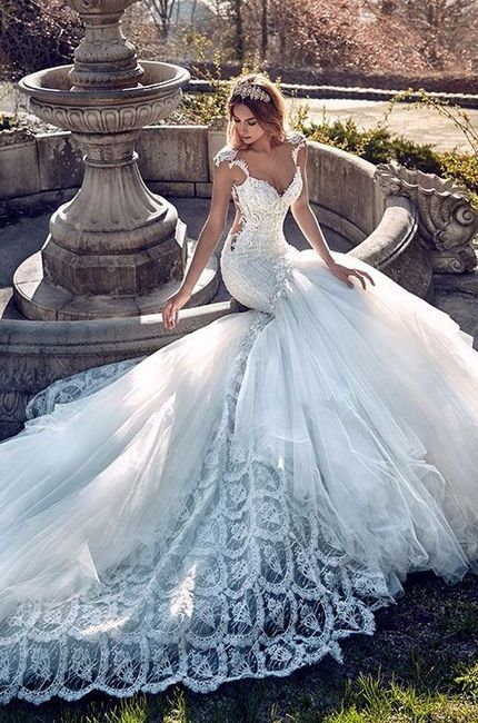 Simple Or Extravagant Wedding Dress Wedding Fashion Forum Weddingwire Ca