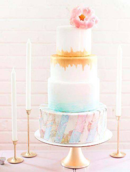 10 travel theme wedding cakes wedding reception forum weddingwire subtle world map gumiabroncs Gallery