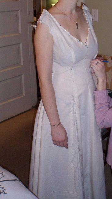 10 steps to make your own wedding dress - DIY - Forum Weddingwire.ca