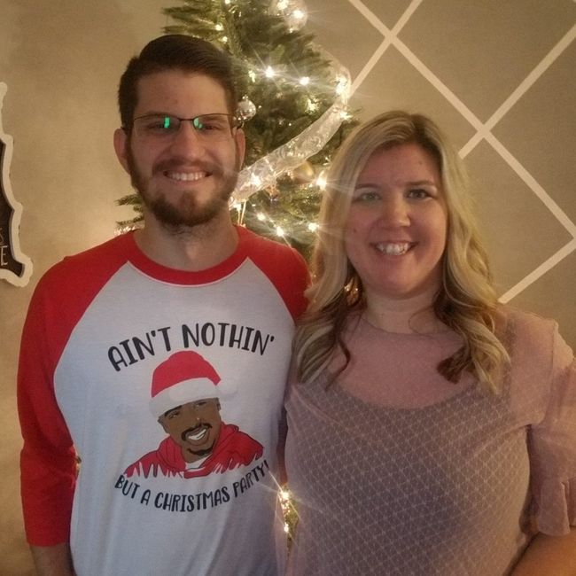 #FianceFriday - Show us a snap of you and your SO celebrating the holidays together 2