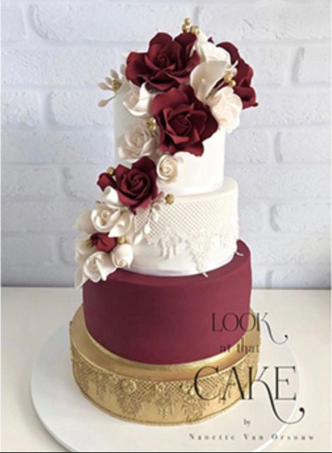 How much did your wedding cake cost? - 1