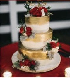 How much did your wedding cake cost? 5